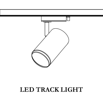 Track light, the best one who know the best way to draw your attention.