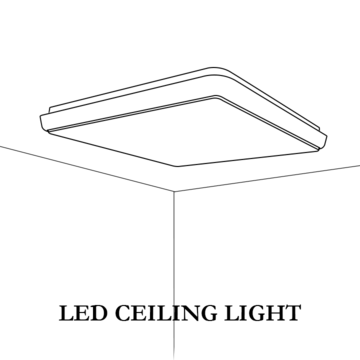 LED Ceiling lights, which always at the middle to light up your world.