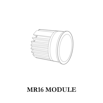 MR16 module, the best way to save energy, and help you replace the Halogen Lamps without delay.