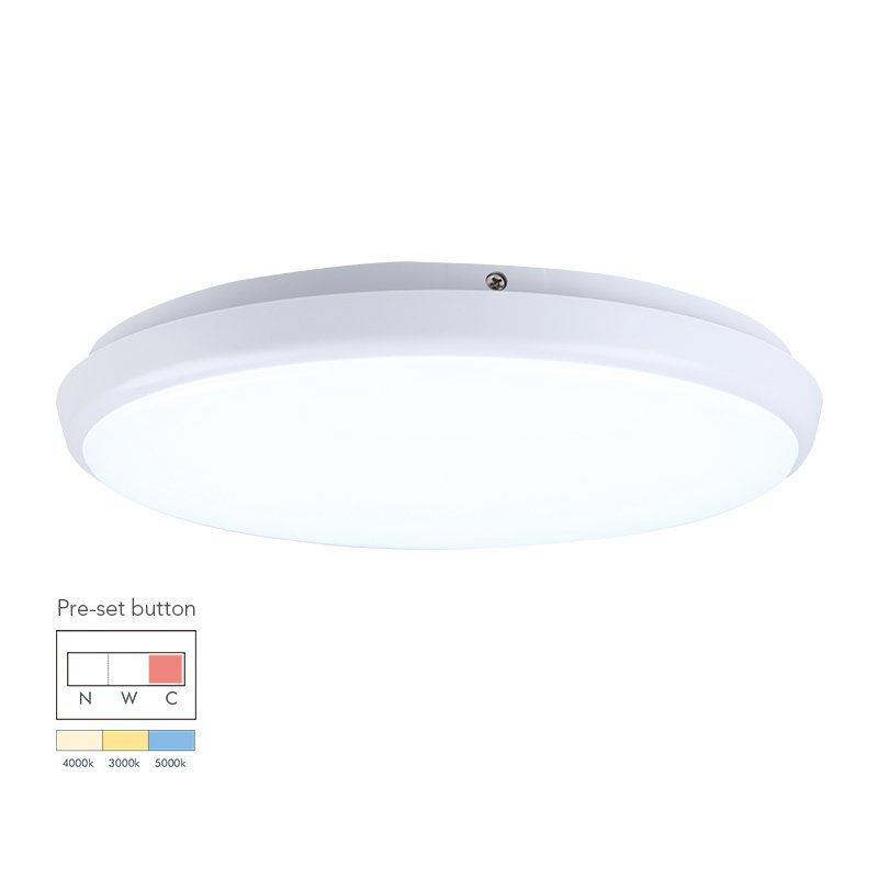 18W Round Dimmable LED Ceiling Lamp