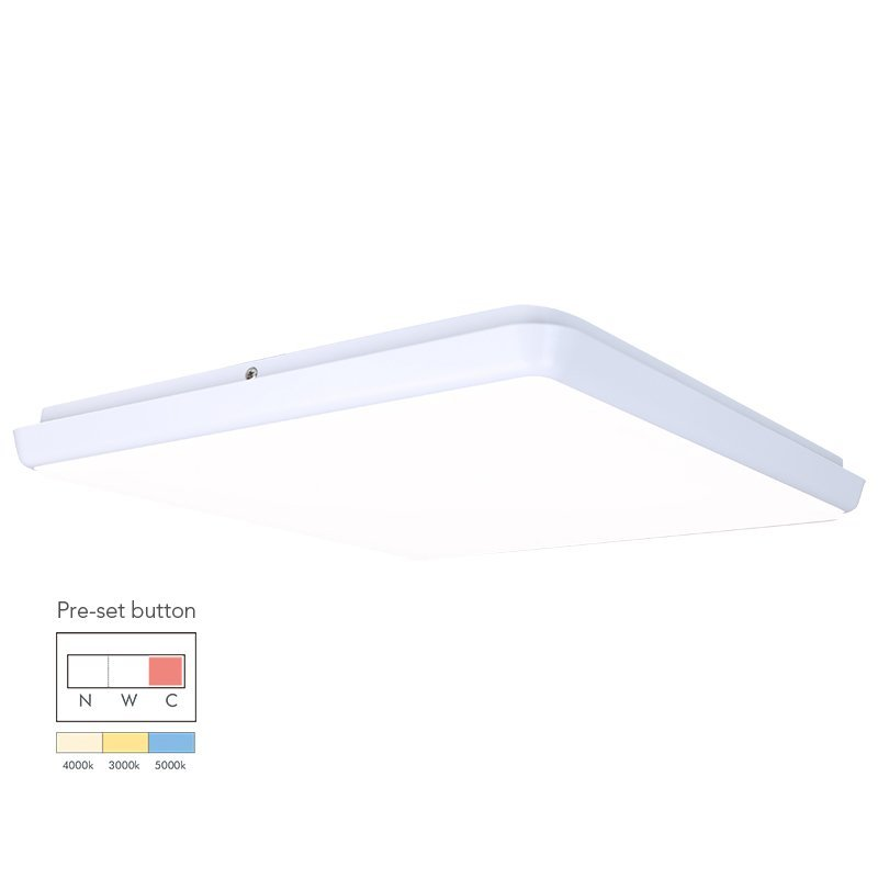 28W Square Dimmable LED Ceiling Lamp
