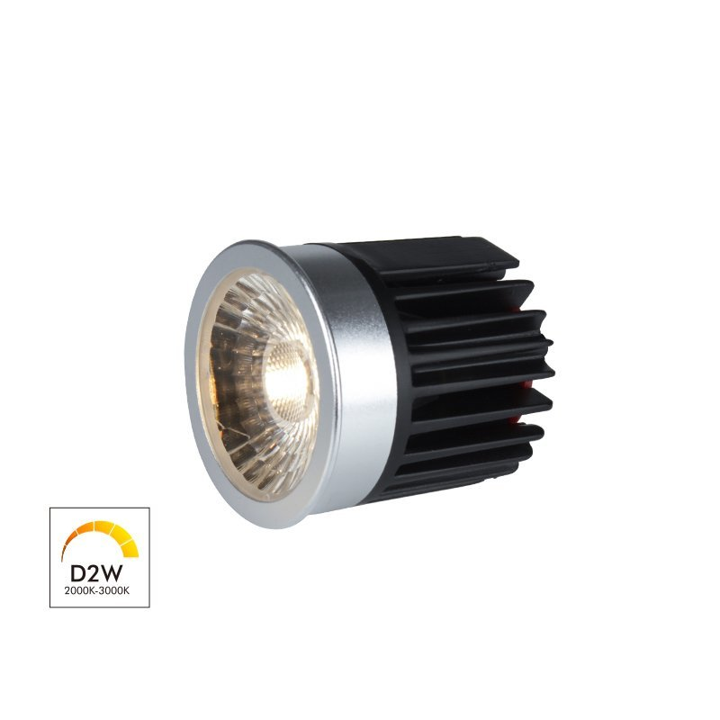 Dim to Warm 6W COB LED MR16 Module