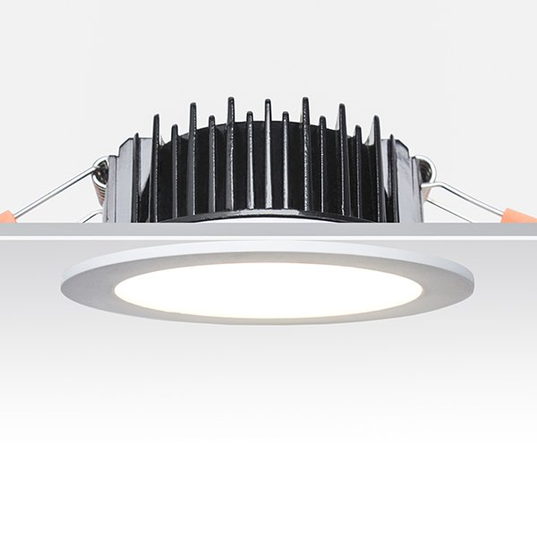 Tri-Color Temperature Residential 9W Dimmable LED Downlight