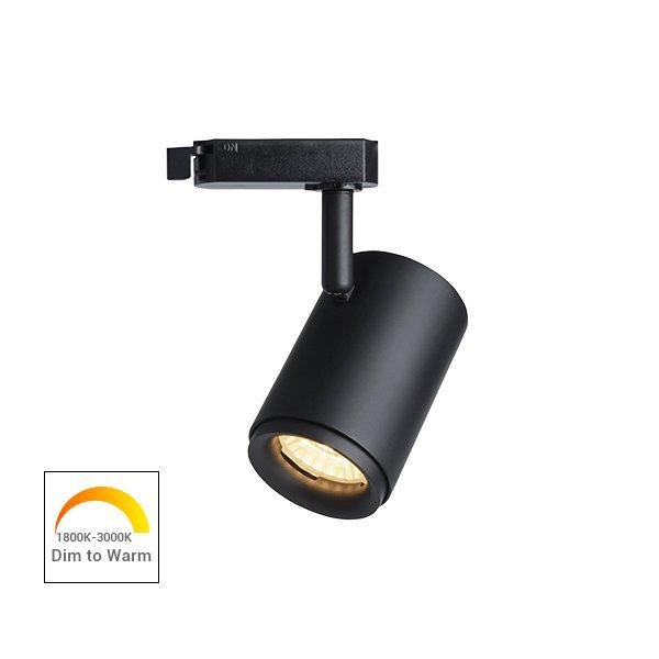 Dim to Warm 12W COB LED Track Light