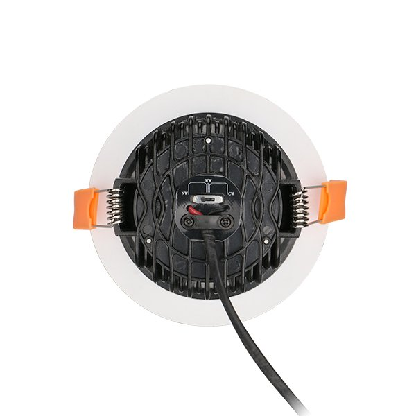 Tri-Color Temperature Aluminum 9W Dimmable LED Downlight