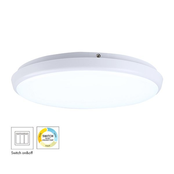 300mm Round Dimmable LED Ceiling Lamp
