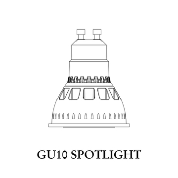 DIM to Warm 1800K-3000K COB MR16 GU10 Aluminum LED Spotlight