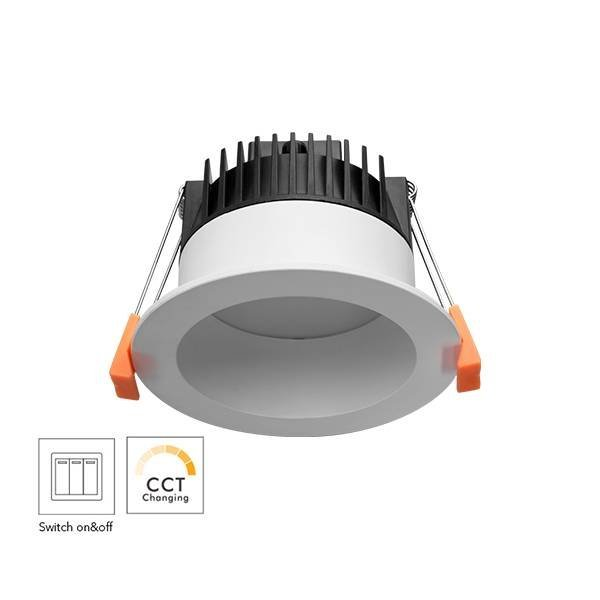 Switch Changeable CCT 13W Hotel LED Down Light